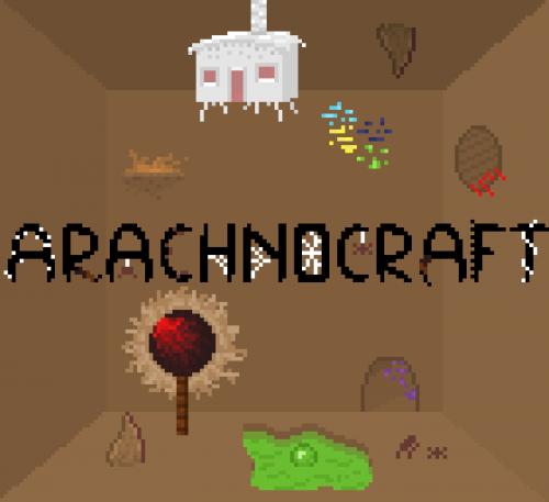 Мод на паучье измерение для Minecraft 1.14.4/1.12.2 (Arachnocraft)