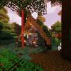 Просто дом, просто лес :)