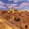 Деревня, обустроенная игроками